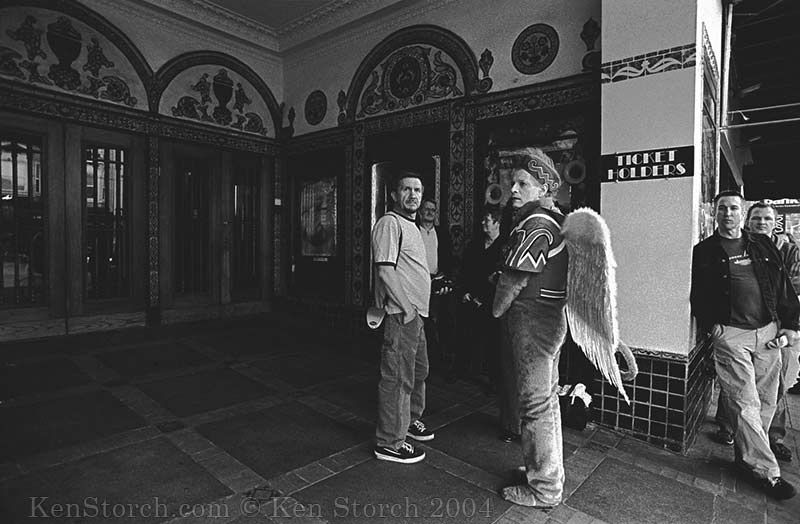 Ticket Holders - Angel at the Castro