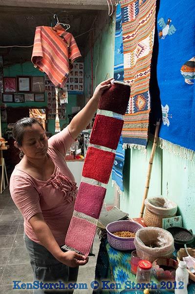 Teotitlan – Weaving in Oaxaca