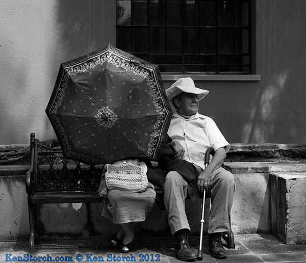 On a sunny day in Oaxaca