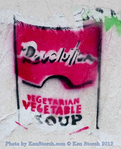 Revolution Vegetarian Vegetable Soup