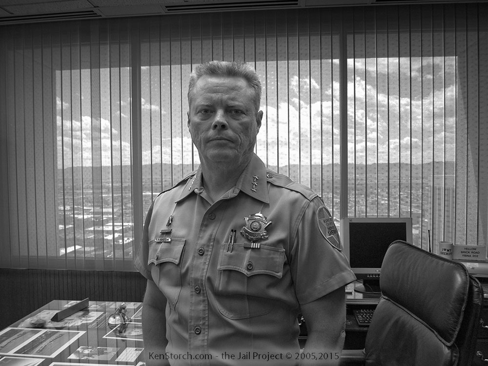 Chief Deputy Jerry Sheridan – MCSO Maricopa County Sheriff's Office – Jail Project 2