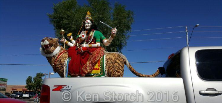 Driving Ms. Kali